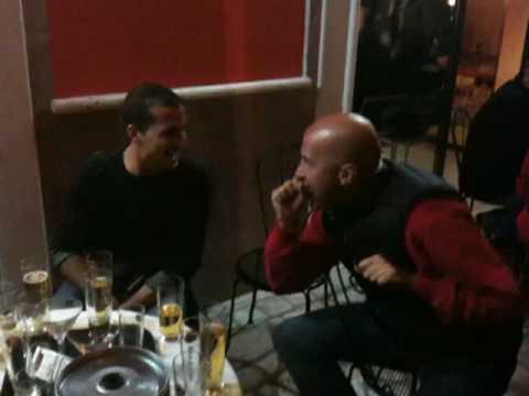 I ragazzi di Fiumata ed il Karaoke all'Alucard di S.Agapito S.Salvatore. PARTE 2