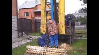 Бурение скважин под воду(Бурение скважин на водоупор в Московской области.,, 2013-11-25T07:42:46.000Z)