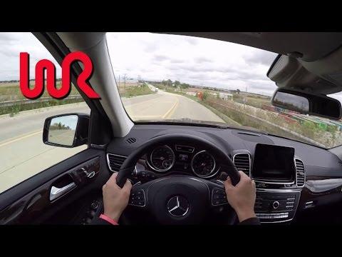 2017 Mercedes Benz GLS450 WR TV POV Test Drive
