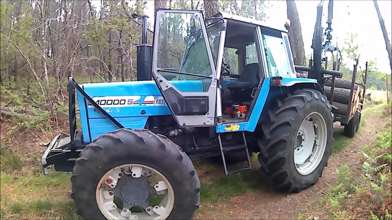 tracteur forestier landini