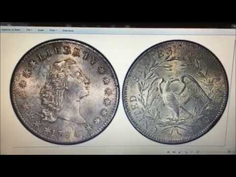 WHAT DOES A $10 MILLION DOLLAR COIN LOOK LIKE!? 1794 FLOWING HAIR DOLLAR!