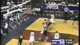 Weber beats North Carolina (NCAA Tournament 1999)
