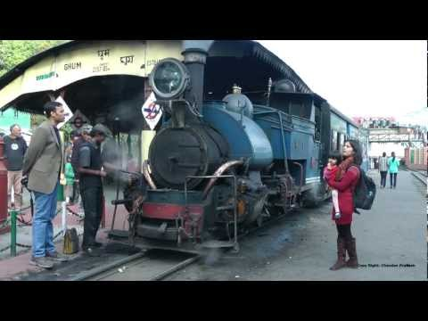 [HD] Darjeeling steam Railway (Toy Train Ride )