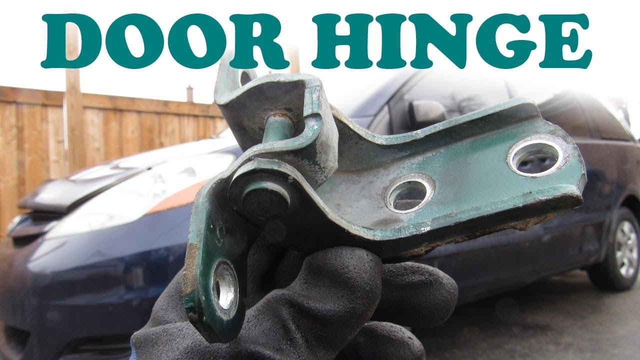 How To Replace A Car Door Hinge Youtube