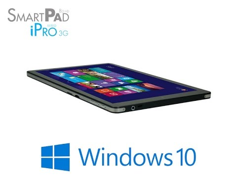 Smartpad ipro 3g w810 mediacom aggiornamento windows 10 youtube