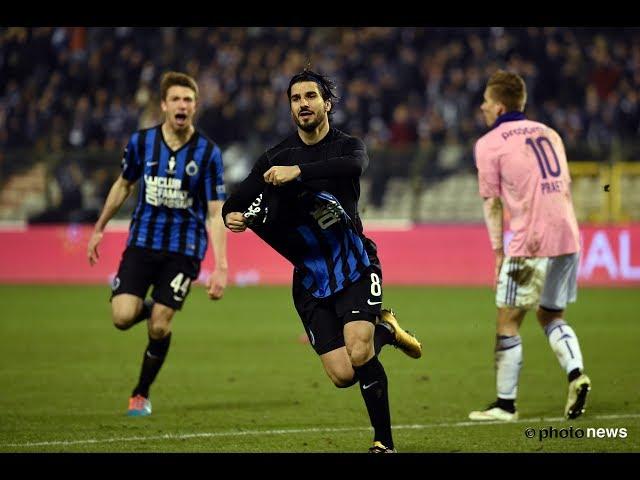 2014-2015 - Club Brugge - RSC Anderlecht - GOAL Lior Refaelov