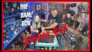 The BAM! Box Horror Box | January 2019 Unboxing | Guru Reviews