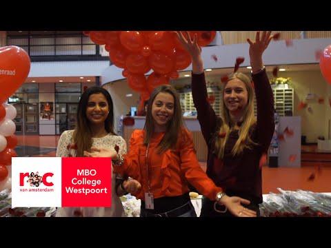 Valentijnsactie op MBO College Westpoort