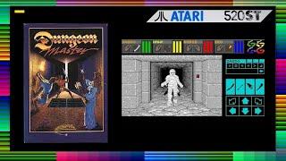 DUNGEON MASTER - Atari ST Game Review