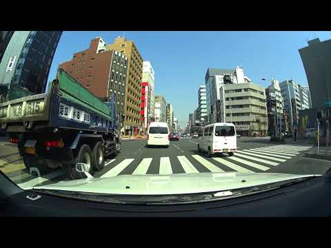 Tokyo drive 4K 東京 お台場 銀座  2018