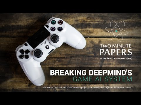 Breaking DeepMind's Game AI System | Two Minute Papers #135