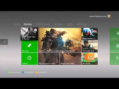 1 Monat xBox Live Account Kostenlos Erstellen 2014 | HD | DE | intakt