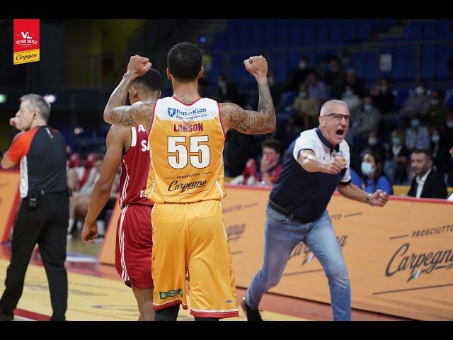 [FullMatch]  Carpegna Prosciutto Basket Pesaro - Allianz Trieste: 74-61
