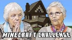 MINECRAFT CHALLENGE | Oma baut ein Haus! | Senioren Zocken!!!