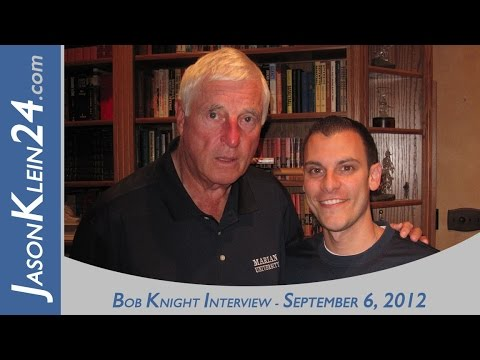 Jason Klein Interviews Coach Bob Knight 9-6-12