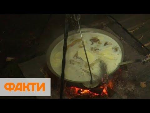 Белый гуцульский борщ и секреты блюда: соревнования поваров в Франковске