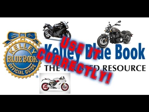 How KBB Motorcycle Values Work