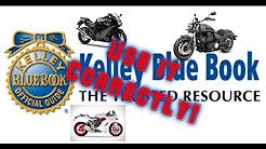 How KBB Motorcycle Values Work.