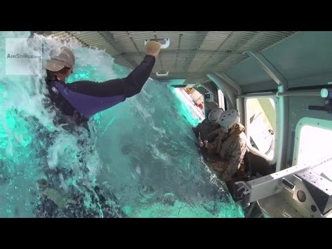 "U.S. Marine Modular Amphibious Egress Trainer - ""Helo Dunker"""