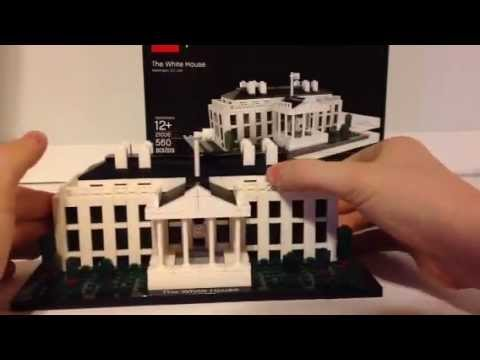 LEGO Architecture The White House Review