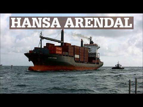 HANSA ARENDAL | Container Vessel arrives Fort Lauderdale