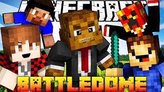 Minecraft BATTLEDOME Pack VS Fans 'GLITCHED WORLD' #1