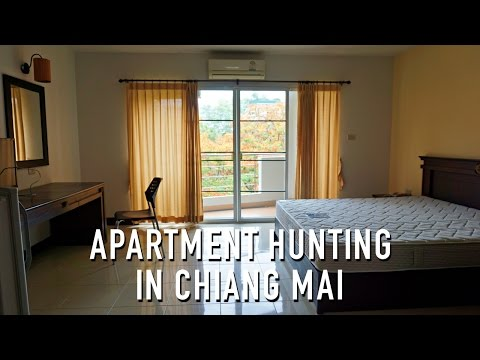 APARTMENT HUNTING IN CHIANG MAI, THAILAND!!