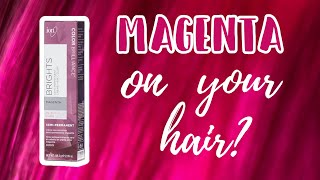 Ion MAGENTA | Hair Level Swatches