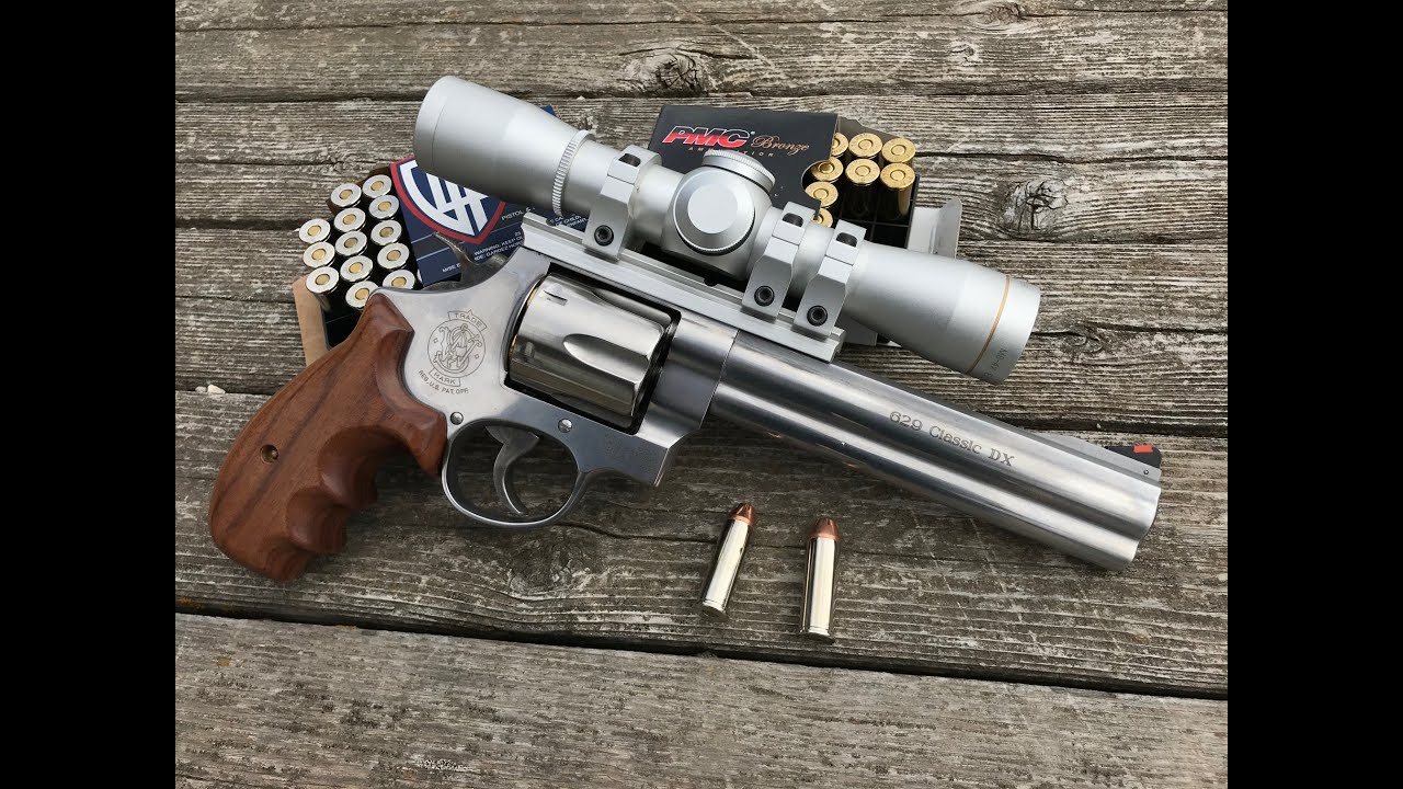 Smith & Wesson Classic 629 DX Range test and review!