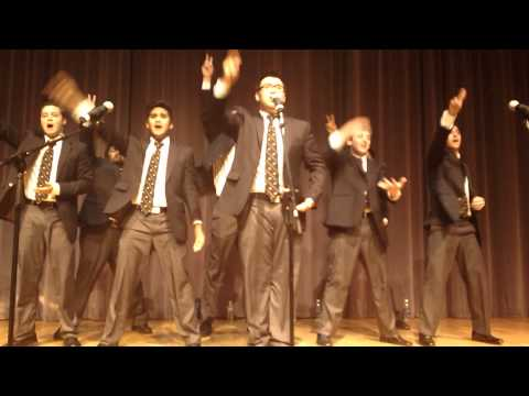 """UC Men's Octet """"What Makes You Beautiful/Gangnam Style"""" - West Coast A Cappella 2012"""