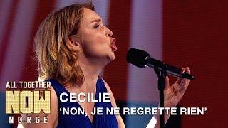 Download Video All Together Now Norge | Cecilie får alle til å reise seg med Non, Je Ne Regrette Rien | TVNorge MP3 3GP MP4