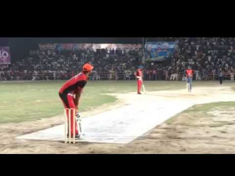 TaiMoor Mirza Big 6 Six to Umer pacer in tape ball cricket 2018
