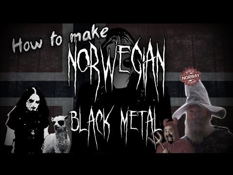 How to make Norwegian Black Metal