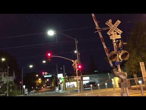VTA Light Rail departs San Fernando Station