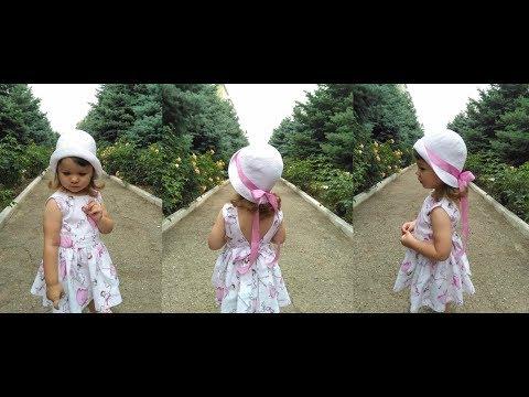 Шляпки крючком для девочек видео