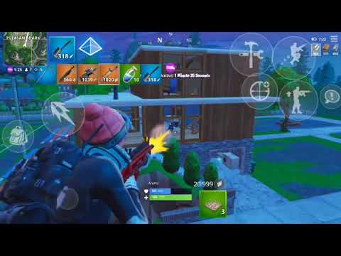 | Fortnite Mobile | Highlights ( IPhone 6s/ Low Graphics)