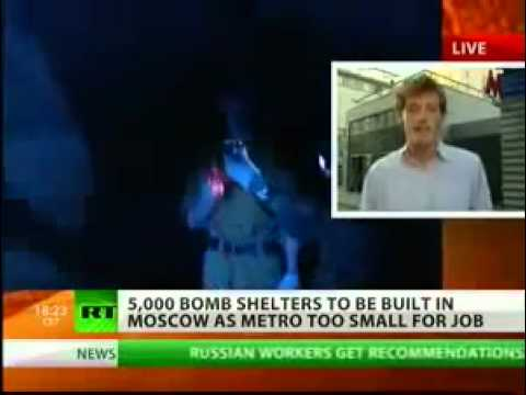 MOSCOW ARMS AGAINST WAR IN BUILDING 5000 BOMB SHELTERS IN 2010