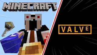 E Se Minecraft Fosse Feito Pela VALVE ?