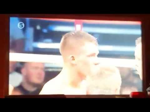 Nick Blackwell v Damon Jones full fight nockout Galaxy S6