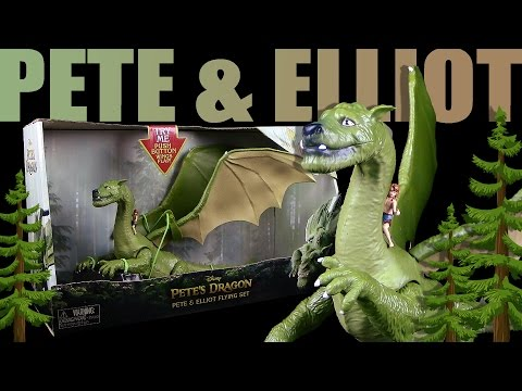 Disney ® Pete's Dragon - Pete & Elliot Flying Set - Unboxing & Review