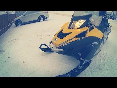 Ski-Doo Skandic SWT 600 E-TEC (115hp) / Снегоход рулю !!!