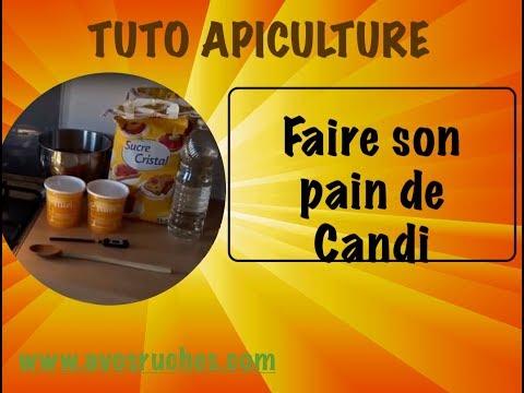 TUTO apiculture, comment préparer son CANDI soi même. www.avosruches.com