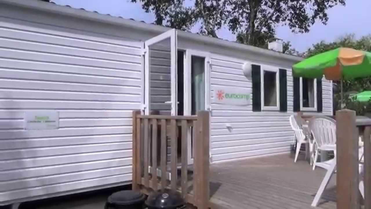 Eurocamp mobile home espirit youtube for Modular homes france