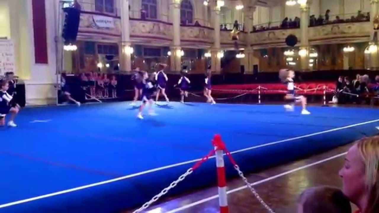 sihlouette angles cheerleading competition winter gardens