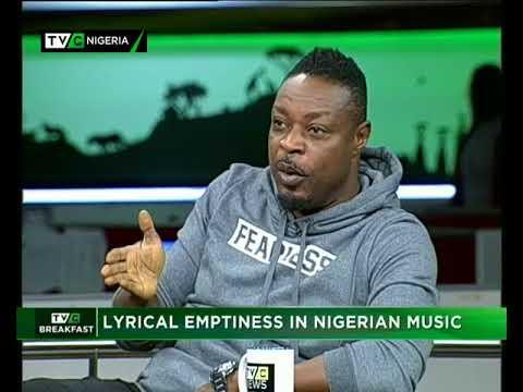 TVC Breakfast Oct. 20th | Lyrical Emptiness in Nigerian Music with Eeedris Abdulkareem