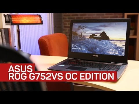 Asus ROG G752VS returns overclocked and ready to game