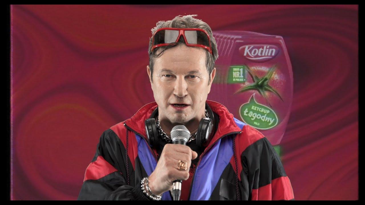 Piotr Cyrwus jako gwiazda dance w spocie ketchupu Kotlin promuje mycie rączek