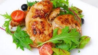 Цыпленок корнишон жареный в мультиварке.