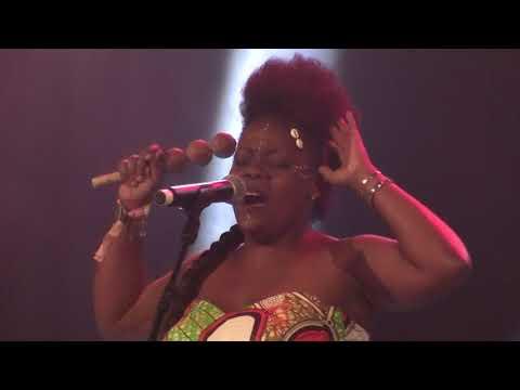 Queen Koumb (Gabon) à Visa for Music - Rabat 22/11/2017