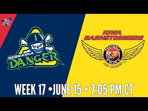 IFL Week 17 | Nebraska Danger at Iowa Barnstormers